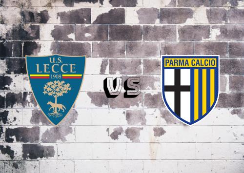 Lecce vs Parma  Resumen