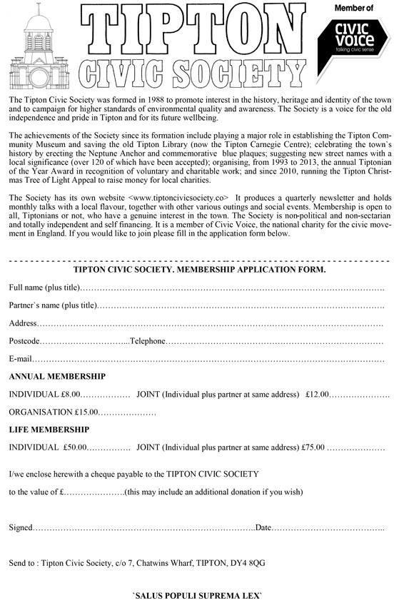 Membership Form 2020