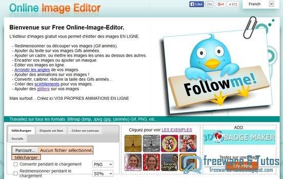 Free Online Image Editor Un Editeur D Images En Ligne