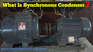 What Is Synchronous Condenser | Advantages | Applications Of Synchronous Condenser | Conclusion