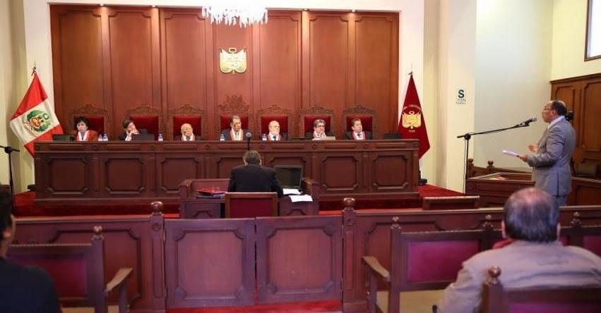 Estos serán los Congresistas que elegirán a magistrados del Tribunal Constitucional