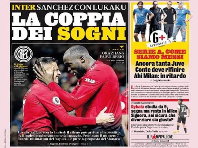 Sanchez rời MU đến Inter: Tái ngộ Lukaku, mơ số áo huyền thoại khuynh đảo Serie A