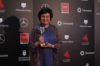 Julieta Serrano en los Premios Feroz 2020