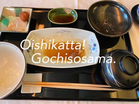"""Oishikatta, Gochisosama"" 美味しかった、ごちそうさま!"