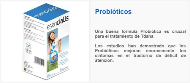 Probióticos y el Tdah