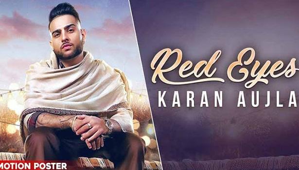 रेड आइज (Red Eyes) Karan Aujla Ft Gulej Lyrics in hindi