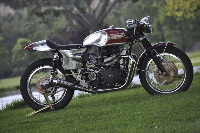Triumph By Mule Motorcycles Hell Kustom