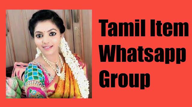 Tamil item Whatsapp Group