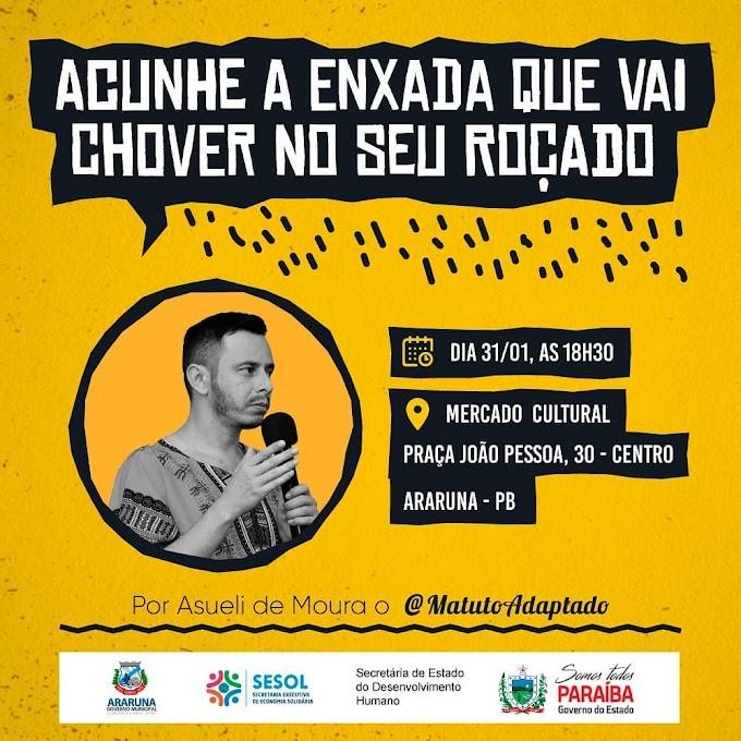 Governo da Paraíba e Prefeitura de Araruna promovem palestra gratuita direcionada aos agricultores