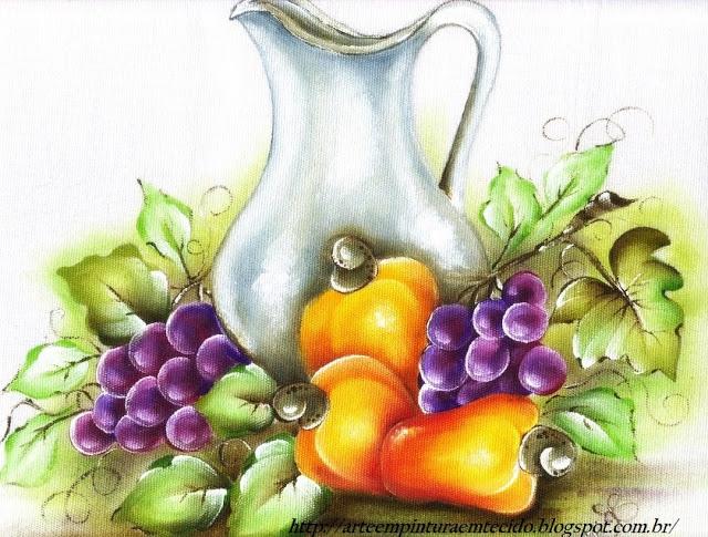 pintura uvas