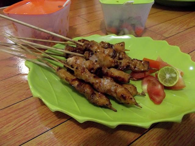 Sate Zaji Maranggi dengan Daging Ayam