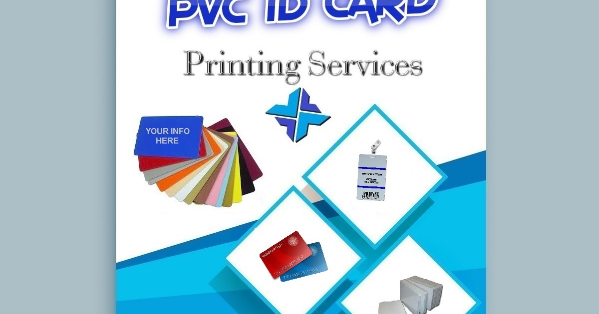 Pvc Id Card Printing Services Printixels Philippines