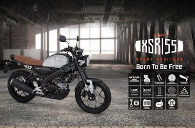 Yamaha XSR155 telah hadir di Batam