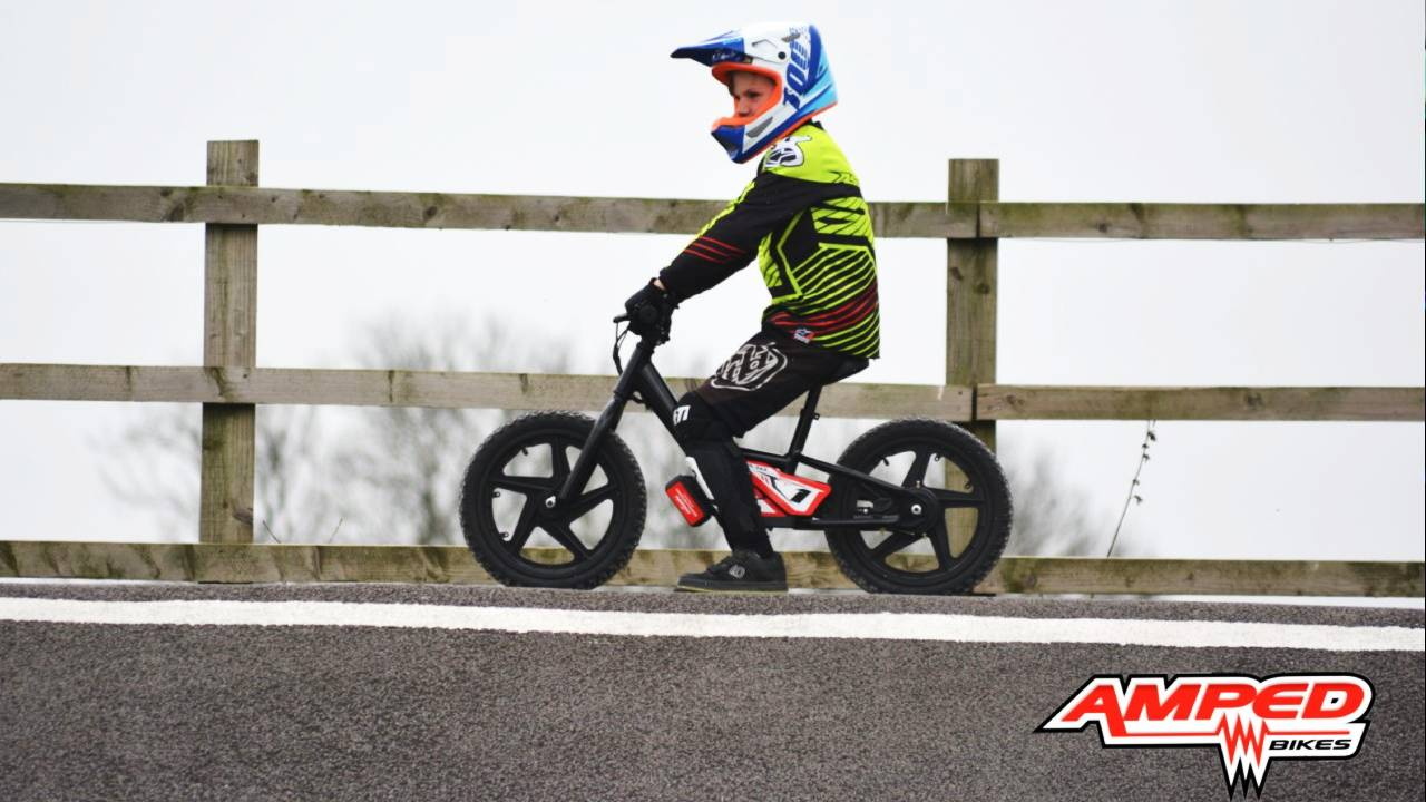 Amped A10 Balance Bikes