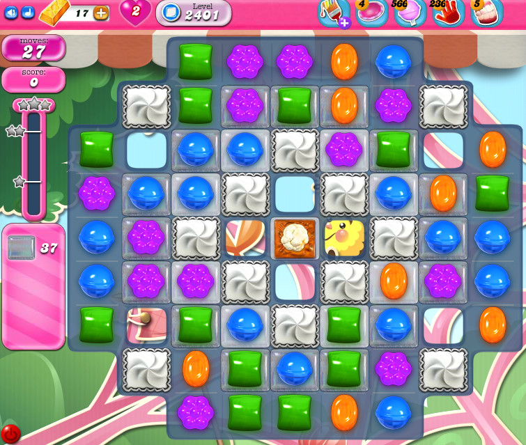 Candy Crush Saga level 2401