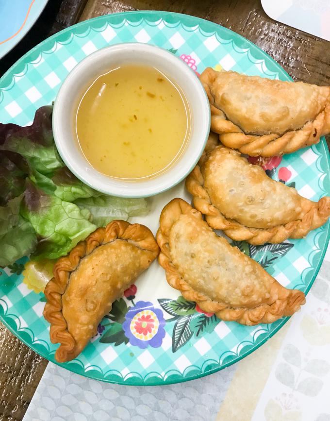 Petit Bangkok empanadillas