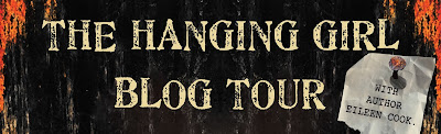 The Hanging Girl Blog Tour banner