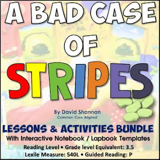 A BAD CASE OF STRIPES BY DAVID SHANNON - TEACHING IDEAS