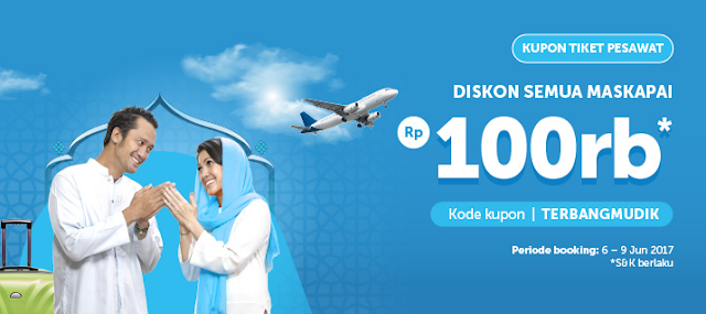 Traveloka Kupon Tiket Pesawat