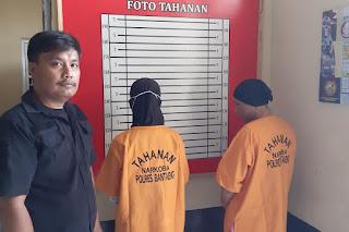 Oknum PNS di Bantaeng dan Teman Prianya Ditangkap Polisi Saat Pesta Sabu