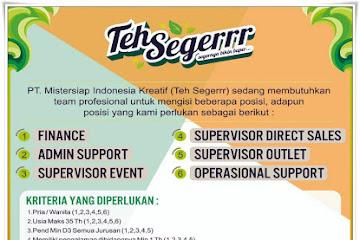 Lowongan Kerja Karyawan PT. Mistersiap Indonesia Kreatif