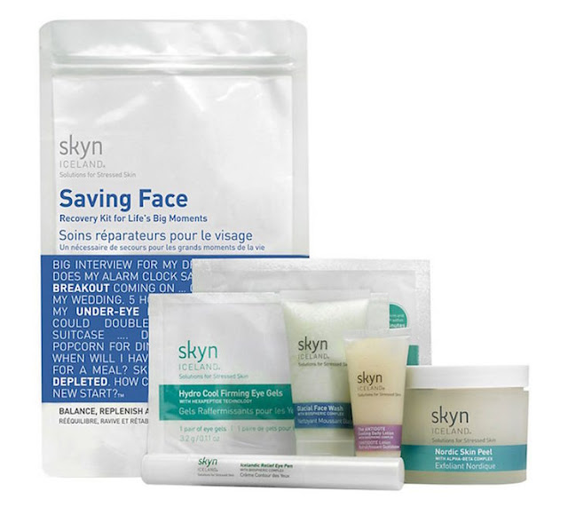 Skyn Iceland Saving Face Recovery Kit