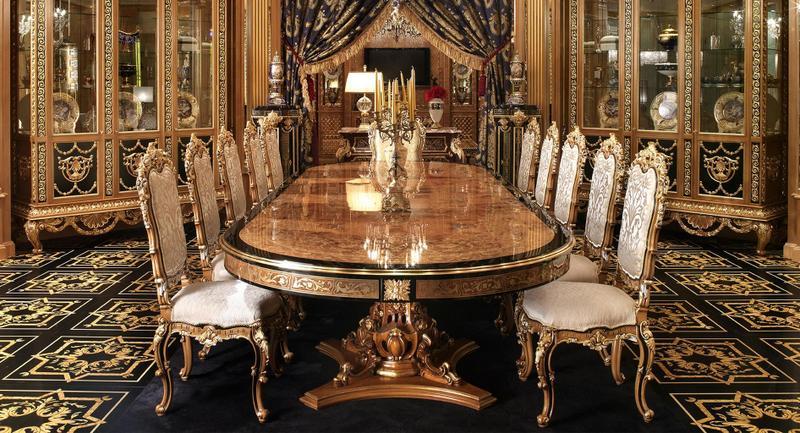 Luxury DINING ROOM FURNITURE Sets - Home Furniture Design ...