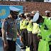 Kasat Lantas Polres Lumajang Pimpin Apel Siaga Bencana