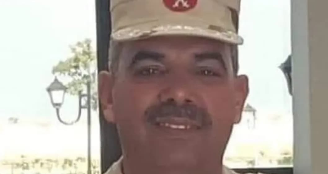 The death of an Egyptian military commander infected