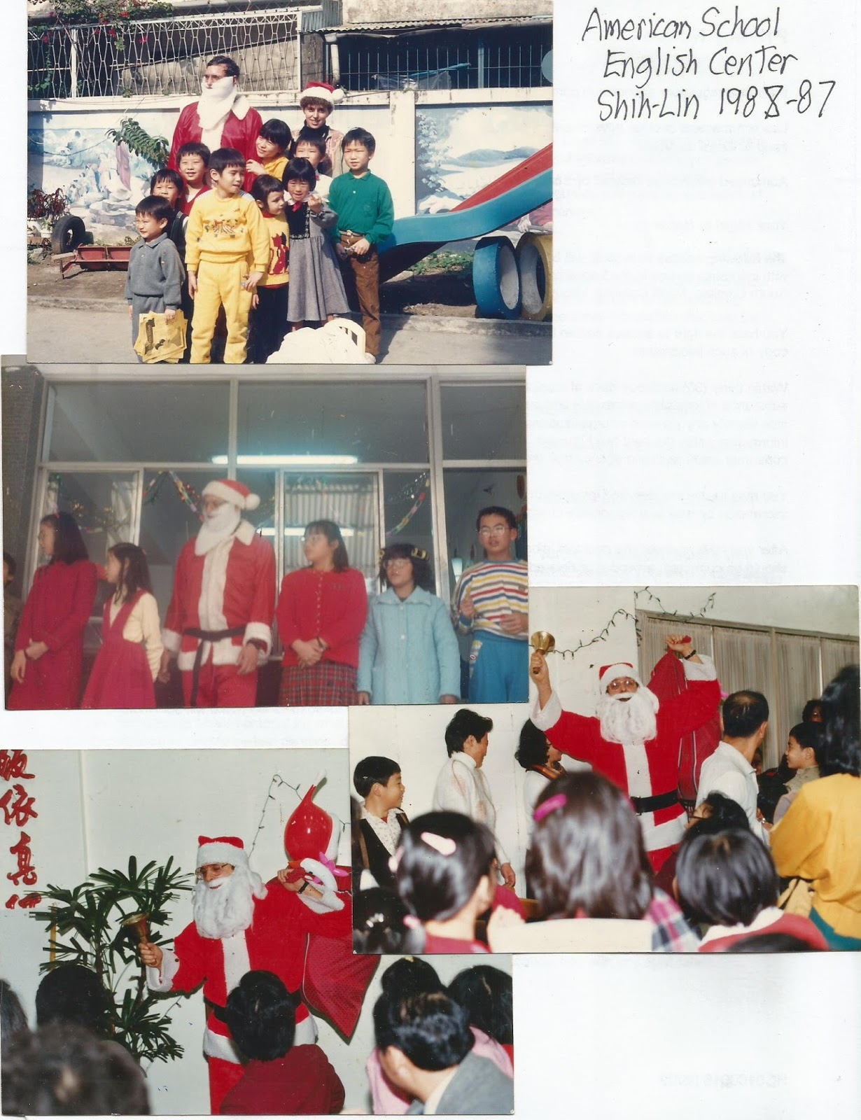 Education emancipation organization seasons greetings from 5 i live in taichung and ride the bicycle to the shengang middle school for 7 graders conversation practice the weather is sunny and cool in the 60s m4hsunfo