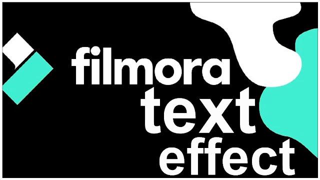 دورة تعلم وشرح filmora 9 عمل مؤثر الإهتزاز على الكتابة والنص shake text effect filmora