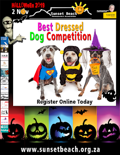 Best Dressed Dog Competition, Halloween 2019, Sunset Beach Home Owners Association