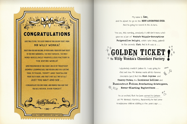 Wonderbly My Golden Ticket