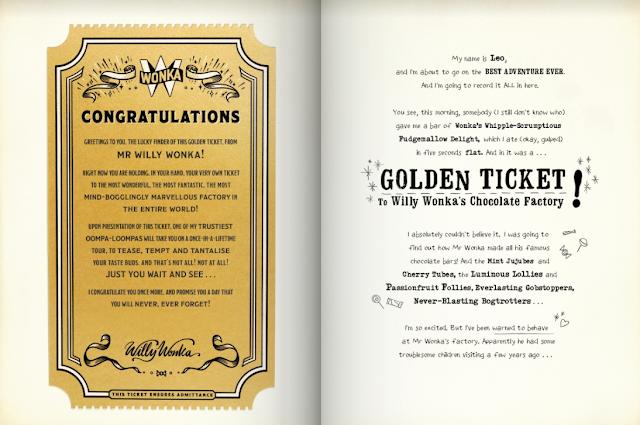 Wonderbly My Golden Ticket