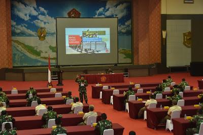 Mabes TNI Gelar Bintal Ideologi Kepada Prajurit dan PNS