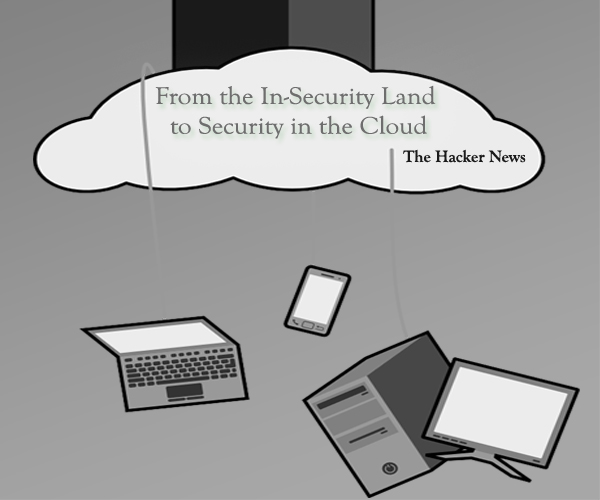 From the In-Security Land to Security in the Cloud