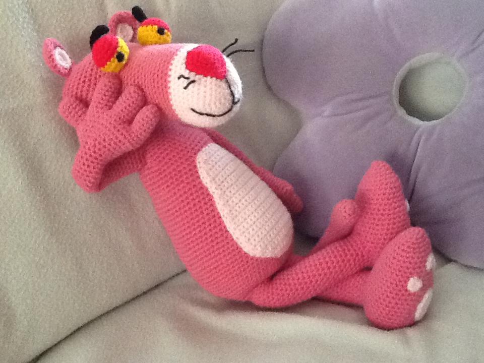 Pantera Rosa!!! Patron by Chibigumis♥ Patron gratis en www ... | 720x960