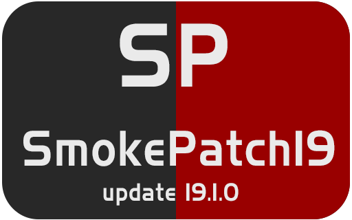 PES 2019 SmokePatch19 update 19 1 0 Season 2019 NEW ~ Game Plus Patch