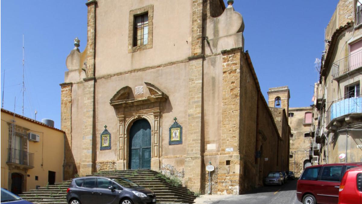 Polizia Municipale Caltagirone chiesa di San Bonaventura