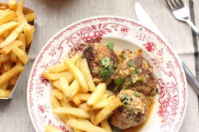 boulettes porc veau chicon