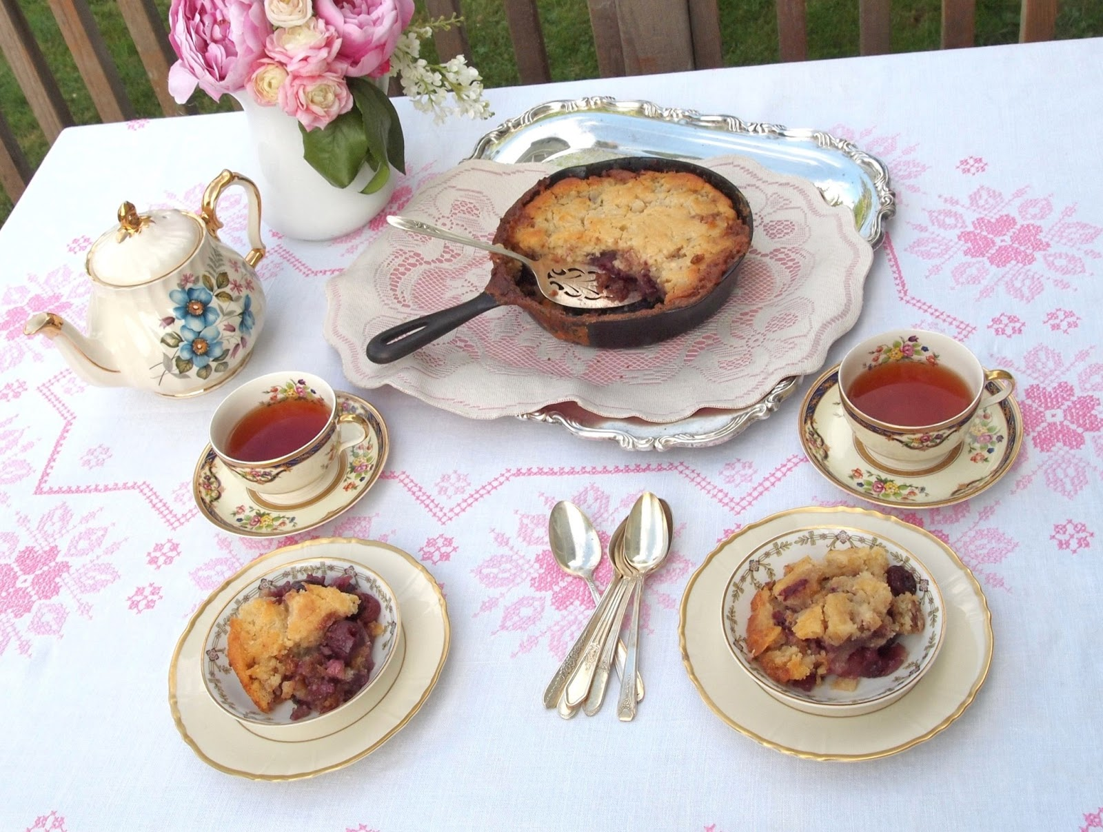 Fresh Cherry Cobbler Recipe With Cake Mix
