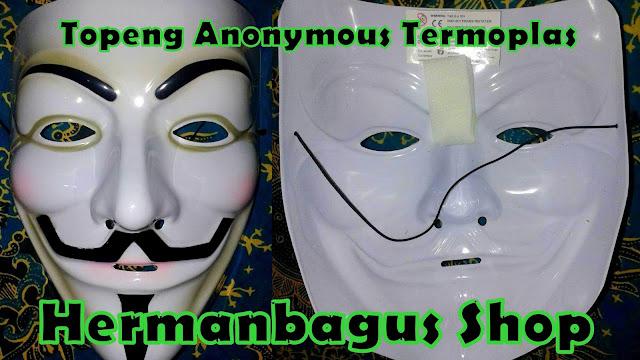Stok Topeng Anonymous PVC Termoplas Jabbawockeez PVC 2016 Hermanbagus Shop