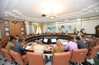 Rapat Koordinasi Tim Pengendalian Inflasi Daerah (TPID) Kota Tarakan