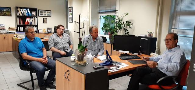 Συνεχίζει τις επαφές του ο Παναγιώτης Νίκας για τα θέματα της Περιφέρειας