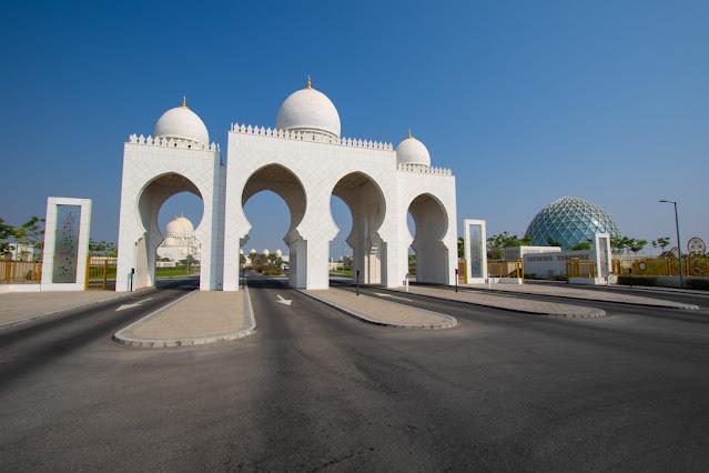 Shaikh Zayed Grand Mosque-Grande moschea dello Sceicco Zayed-Abu Dhabi