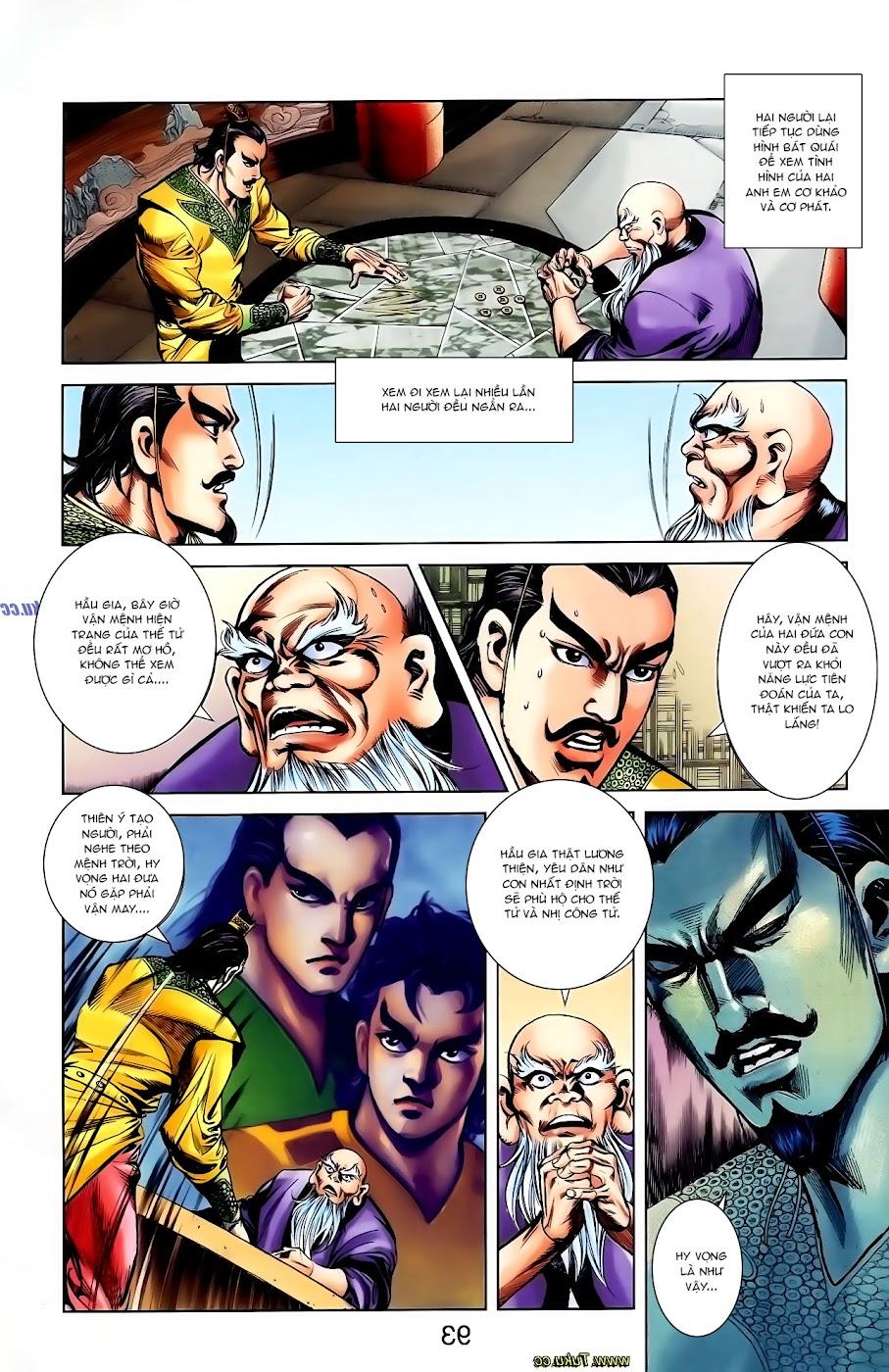 Cơ Phát Khai Chu Bản chapter 108 trang 29