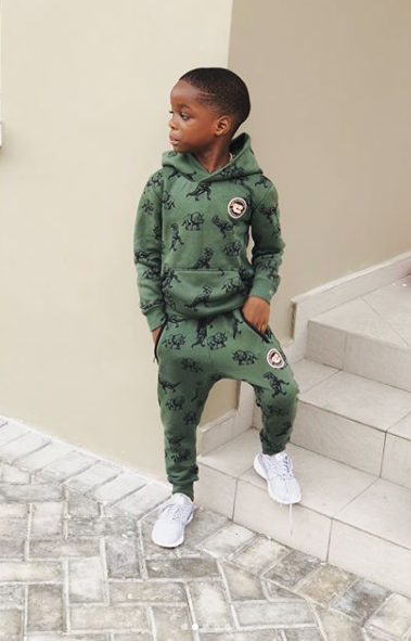 Wizkid's son Boluwatife is all swagged out in new photos