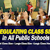 Regulating Class Size (35) in all public schools
