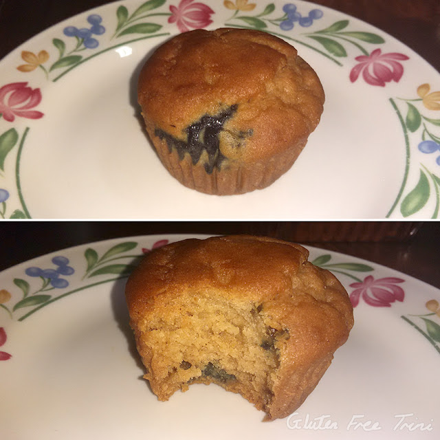 Blueberry Muffin from Live Well Trinidad - Gluten Free Shop