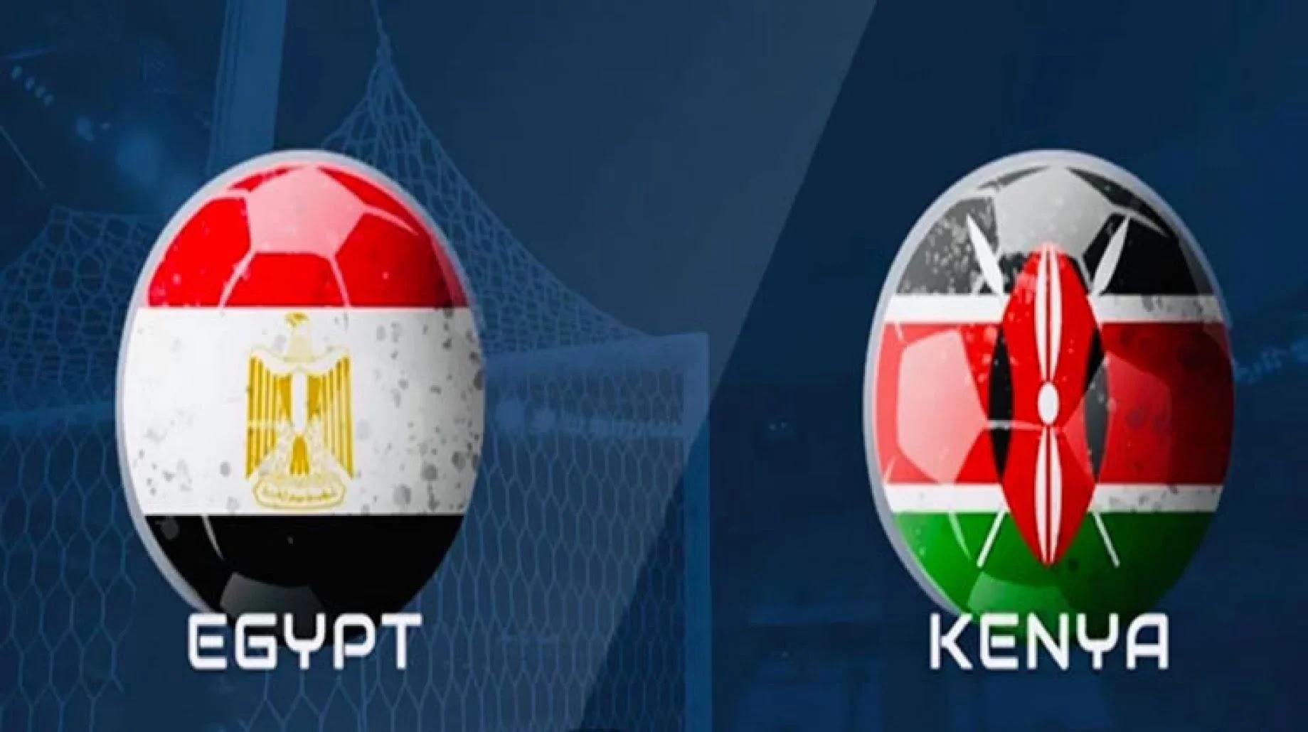 ملخص واهداف مباراة مصر وكينيا اليوم